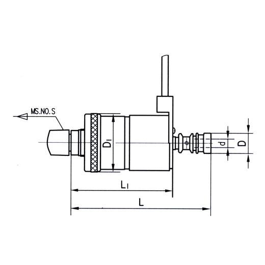КМ2(3) М2-М7 Патрон реверсивный резьбонарезной