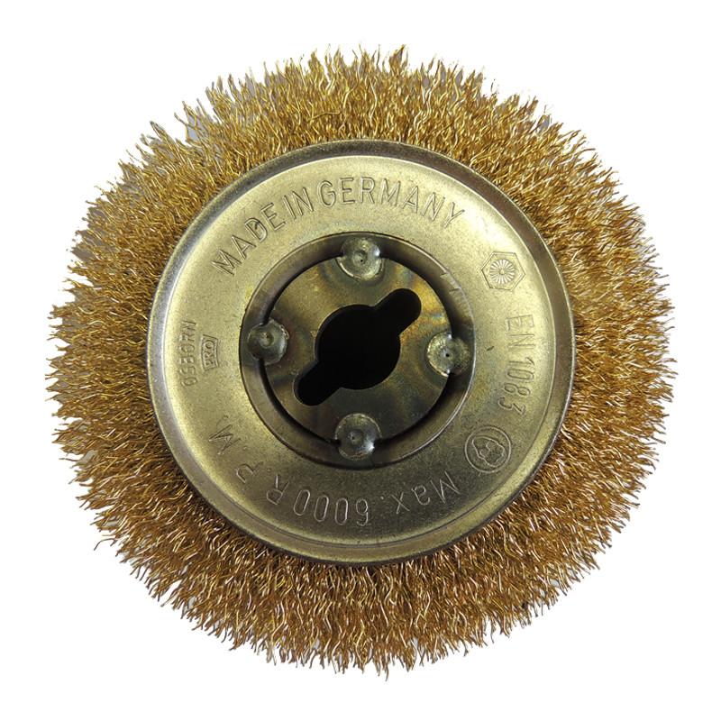Щетка для Makita 9741, ворс гофр. латунир 0,27мм
