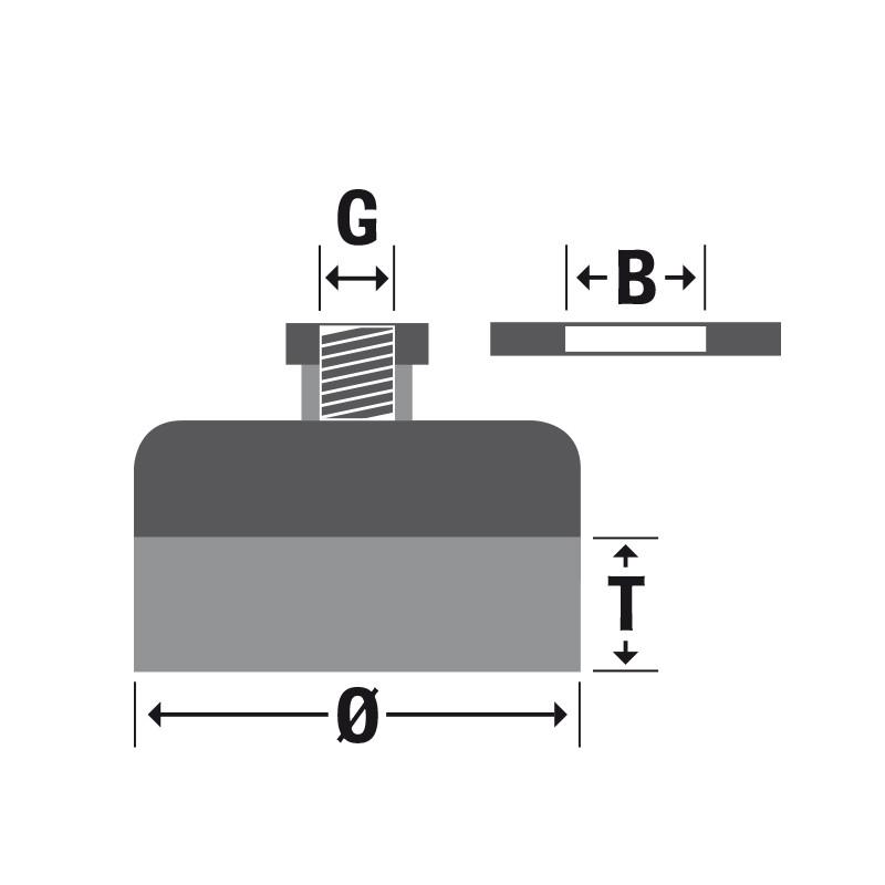 Щетка нержавеющая жгутовая 100*М14, проволока 0,5